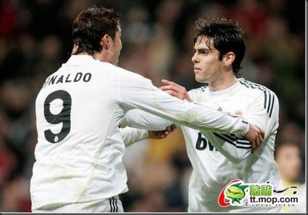 A bela amizade de Cristiano Ronaldo e Kaká (8)