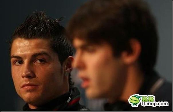 A bela amizade de Cristiano Ronaldo e Kaká (3)