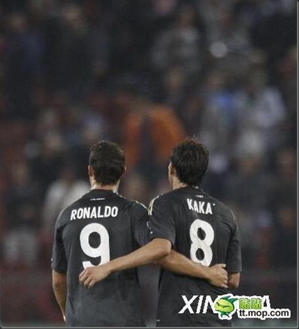 A bela amizade de Cristiano Ronaldo e Kaká