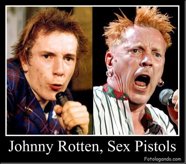 Johnny Rotten, Sex Pistols