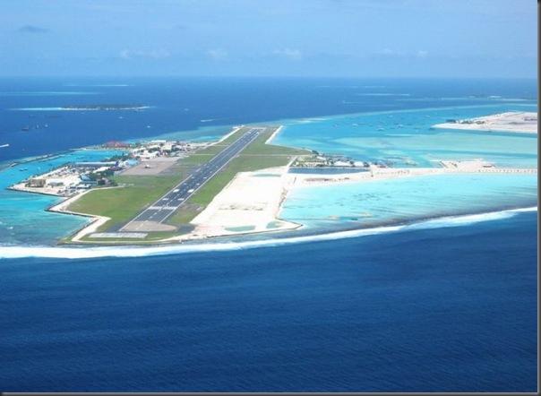 Vista aérea de pistas de aeroportos (2)