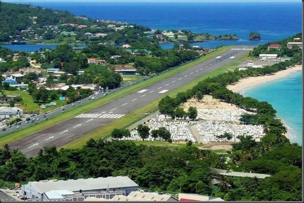 Vista aérea de pistas de aeroportos (13)
