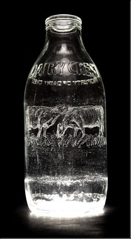 Arte na garrafa de leite por Charlotte Hughes-Martin (31)