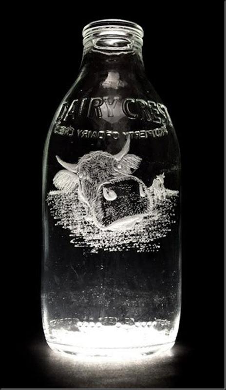 Arte na garrafa de leite por Charlotte Hughes-Martin (12)