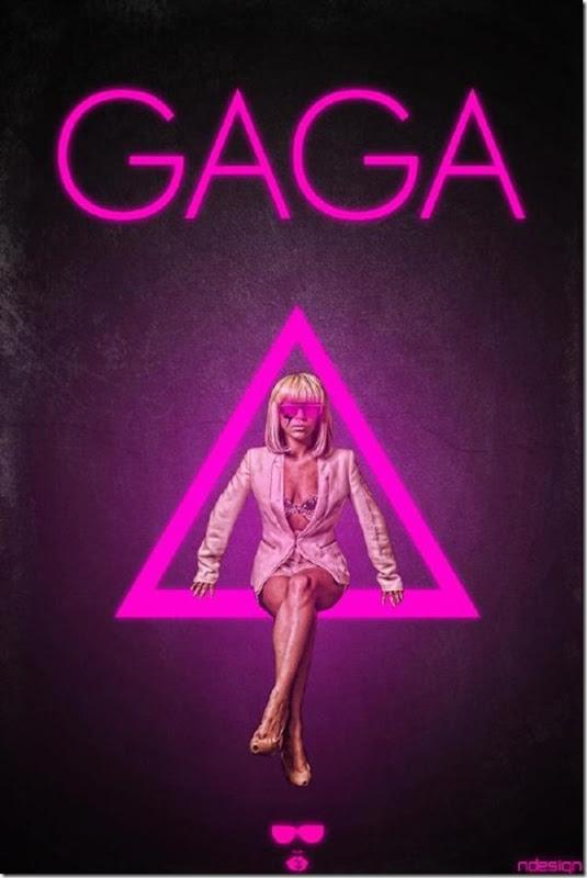 50 desenhos feitos por fãs de Lady Gaga (1)
