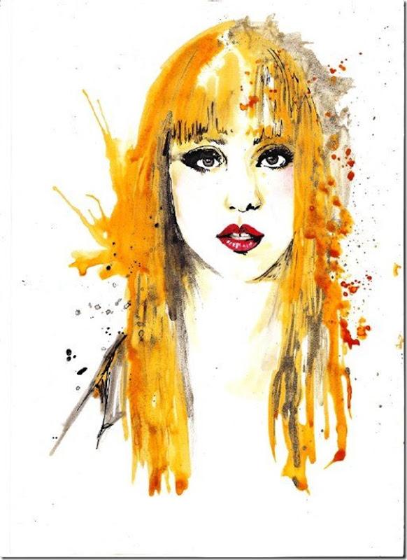 50 desenhos feitos por fãs de Lady Gaga