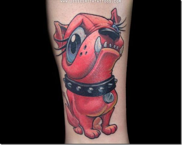 Tatuagens assustadoras por Jesse Smith