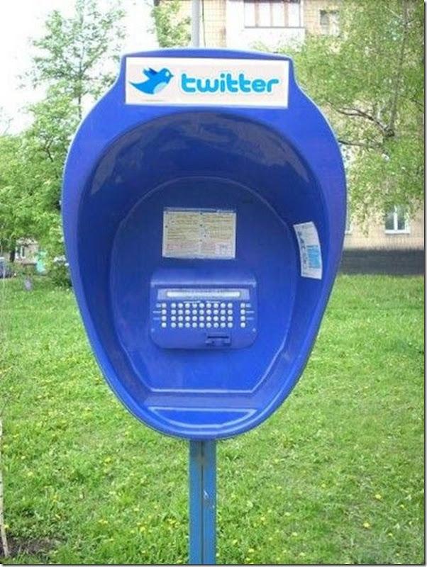 Pra quem quer twittar na rua e não tem celular eis a solução