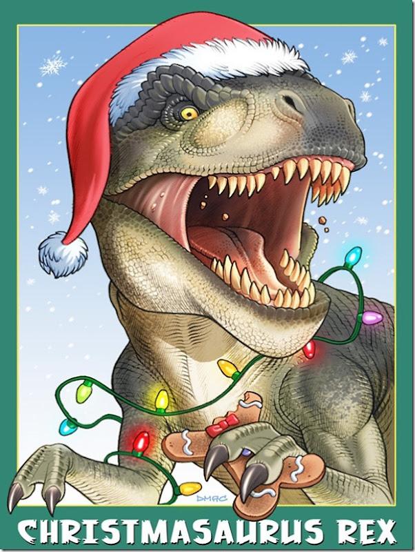 christmasaurus-rex