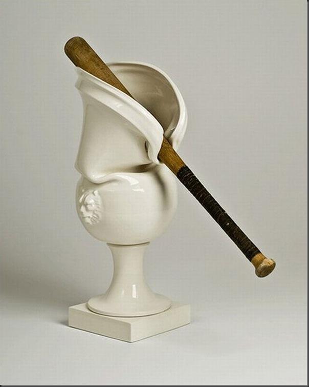 Esculturas de porcelana bem diferentes e criativas