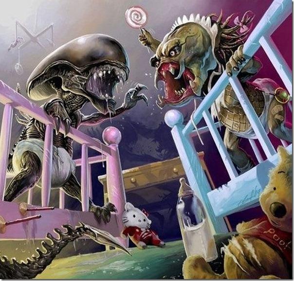 Minis Alien vs Predador