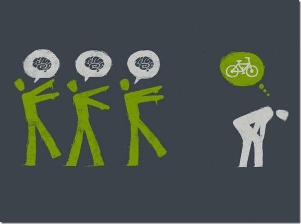 Nessas horas uma bicicleta faz falta