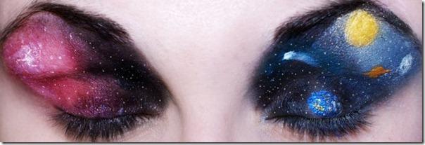 Linda maquiagem nos olhos em forma de sombra (11)
