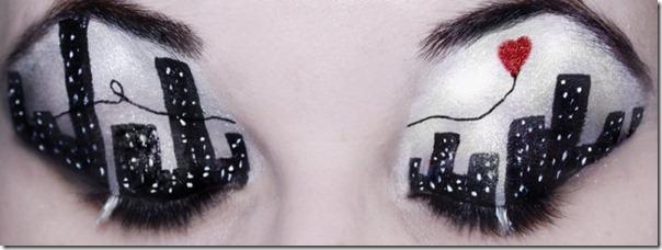 Linda maquiagem nos olhos em forma de sombra (13)