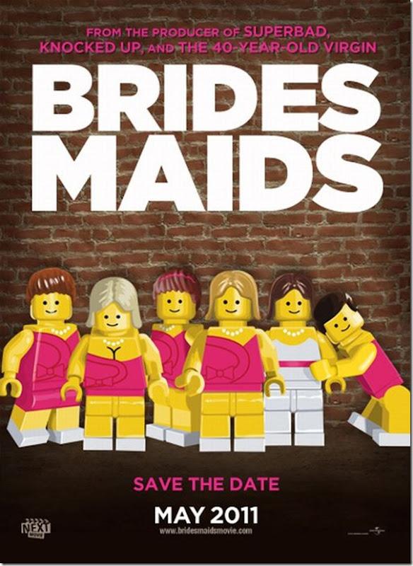 Posters de filmes de 2011 em Lego (3)