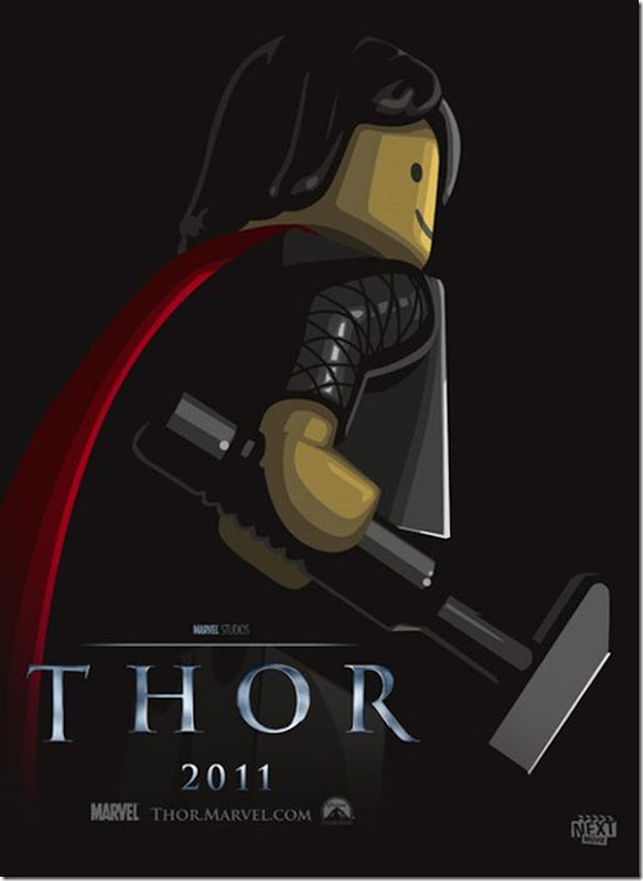 Posters de filmes de 2011 em Lego (5)