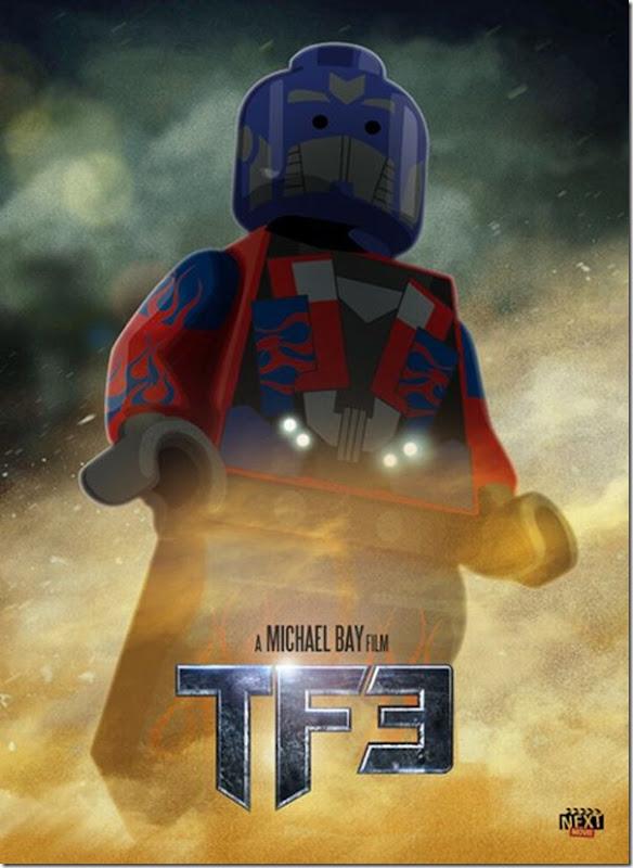 Posters de filmes de 2011 em Lego (8)
