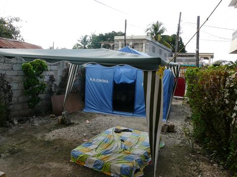 Tent familie Edson