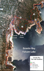 Granite Bay Map