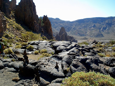 Photo of  Tenerife. Escalada. Roques de Guillermo