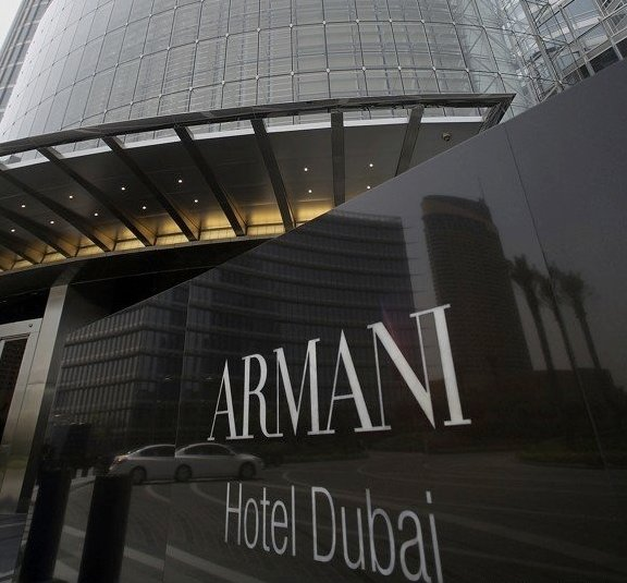 The First Armani Hotel