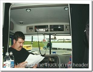 Inside 2000 Mack Vision