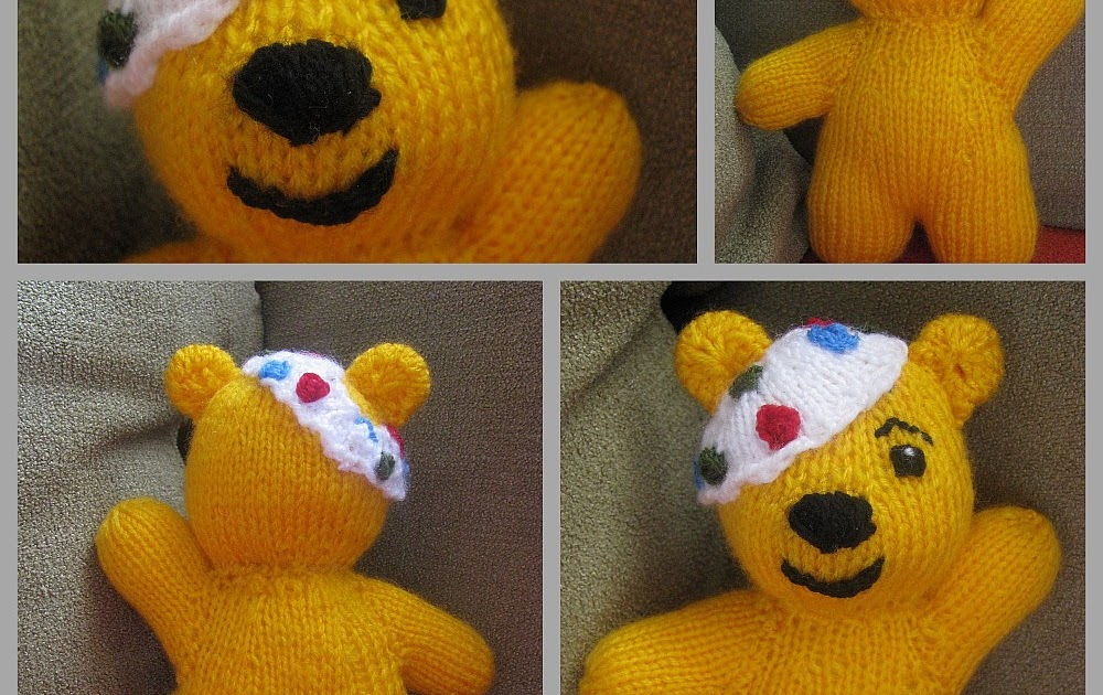 Pudsey Bear Knitting Pattern : Pyzias knitting: Pudsey czyli mis dla chorych dzieci