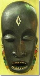 Oro orun egun, mascara africana