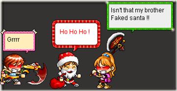 santa faked