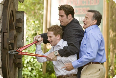 Charlie, Dan and Ralph trying to enter the zoo :p