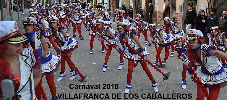Carnaval en Villafranca de los Caballeros 2010
