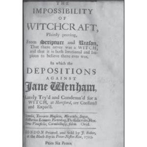 Impossibility Of Witchcraft Cover