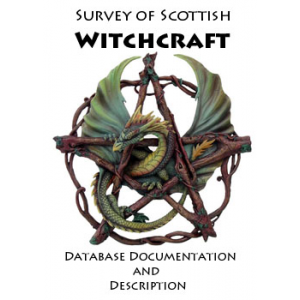 Survey Of Scottish Witchcraft Database Documentation And Description Cover