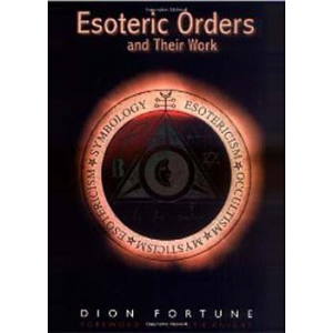 Esoteric Orders And Their Work Cover