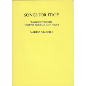 Songs For Italy Cover