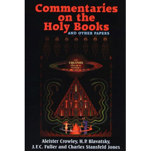 The Equinox Vol Iv No I Commentaries On The Holy Books And Other Papers Cover