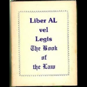 Liber Al Vel Legis Scans Cover