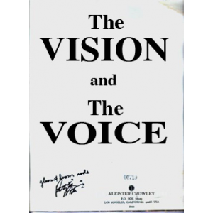 Liber 418 The Vision And The Voice Cover