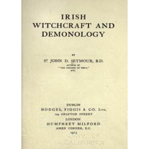 Irish Witchcraft And Demonology Cover