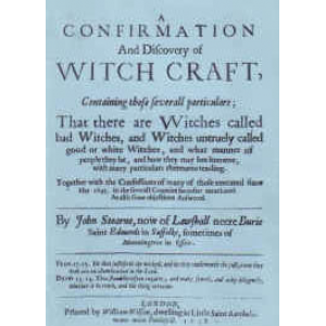 A Confirmation And Discovery Of Witchcraft Cover