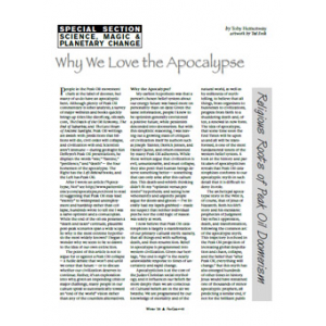 Why We Love The Apocalypse Cover