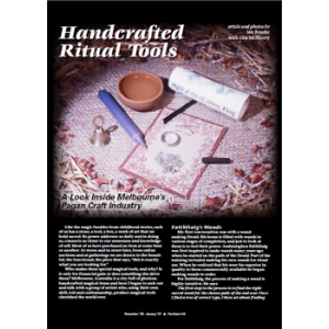 Handcrafted Ritual Tools Cover