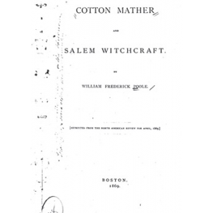 Cotton Mather And Salem Witchcraft Cover