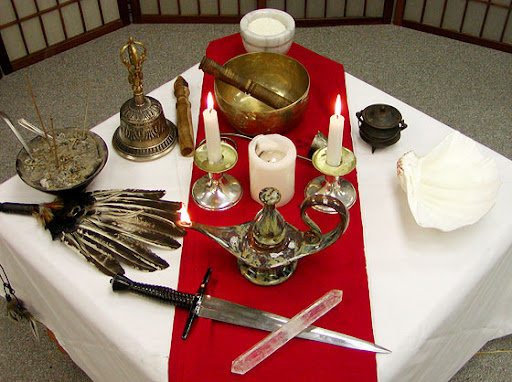 Altars And Altar Setup Cover