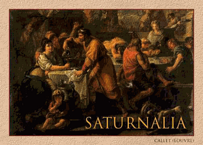 Saturnalia Practices And Rituals Cover