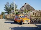 海辺の街モロンダヴァのバンガローマダガスカル