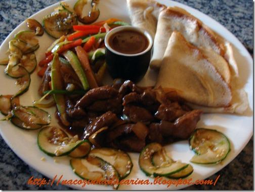 almoço-oriental