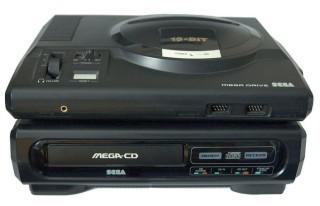 Mega Drive com Sega-CD