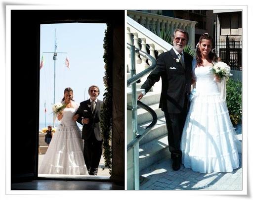 Real wedding, abiti da sposa,