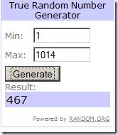 Hayneedle $100 Winner